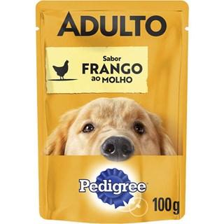 Ração Pedigree Vital Pro Sachê Frango Ao Molho Para Cães Adultos - 100g