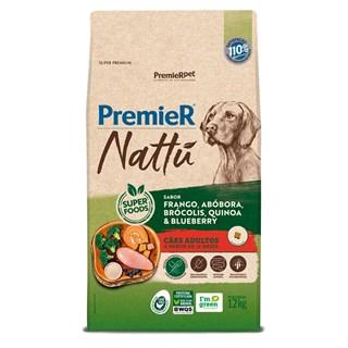 Produto Ração Premier Nattu Sabor Abóbora para Cães Adultos de Raças Médias e Grandes