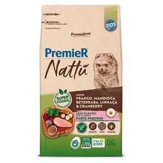 Produto Ração Premier Nattu Sabor Mandioca para Cães Filhotes de Raças Pequenas