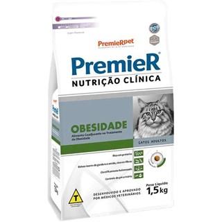 Ração Premier Nutrição Clínica para Gatos Obesidade