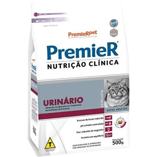 Ração Premier Nutrição Clínica para Gatos Urinário
