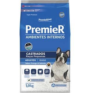 Ração Premier Pet Ambiente Interno Cães Castrados