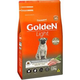 Ração Premier Pet Golden Formula Light Sabor Frango e Arroz Para Cães Adultos De Raças Pequenas