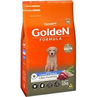 Ração Premier Pet Golden Formula Sabor Carne Para Cães Filhotes