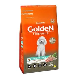 Ração Premier Pet Golden Formula Sabor Frango e Arroz Para Cães Adultos De Raças Pequenas