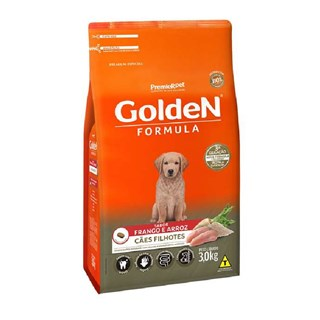 Ração Premier Pet Golden Formula Sabor Frango Para Cães Filhotes