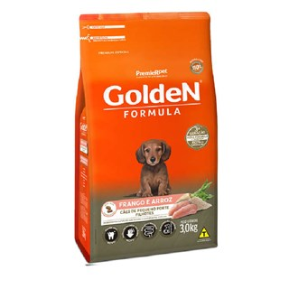 Ração Premier Pet Golden Formula Sabor Frango Para Cães Filhotes De Raças Pequenas