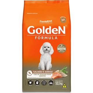 Ração Premier Pet Golden Formula Sabor Salmão & Arroz Para Cães Adultos De Raças Pequenas