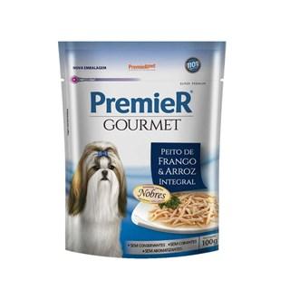 Produto Ração Premier Pet Gourmet Sachê Frango para Cães Adultos