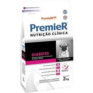 Ração Premier Pet Nutrição Clínica Diabetes para Cães Adultos Pequeno Porte