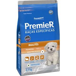 Ração Premier Pet Raças Específicas Maltês Filhotes - 2.5 Kg