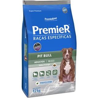 Ração Premier Pet Raças Específicas Pit Bull Adulto - 12 Kg
