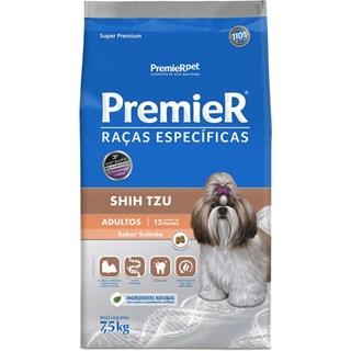 Ração Premier Pet Raças Específicas Shih Tzu Sabor Salmão Para Cães Adultos
