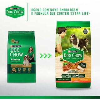 Ração Purina Dog Chow Frango e Arroz Para Cães Adultos De Raças Pequenas