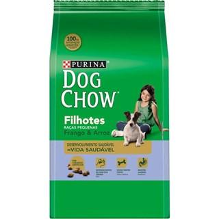 Ração Purina Dog Chow Frango e Arroz Para Cães Filhotes De Raças Pequenas
