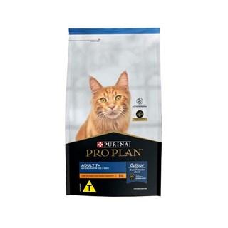 Ração Purina Pro Plan 7+ Sabor Frango para Gatos Sênior