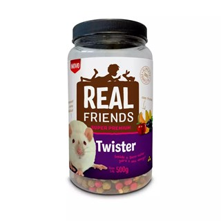 Ração Real Friends Super Premium com Frutas para Twister