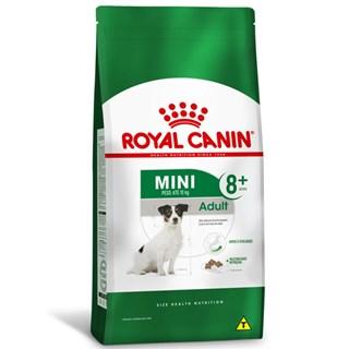 Ração Royal Canin 8+ Mini para Cães Sênior