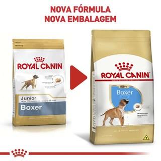 Ração Royal Canin Boxer Junior Para Cães Filhotes - 12kg