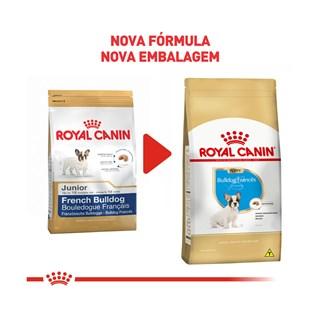 Ração Royal Canin Bulldog Francês Junior Para Cães Filhotes