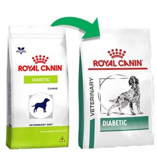 Ração Royal Canin Canine Veterinary Diet Diabetic para Cães Adultos com Diabetes