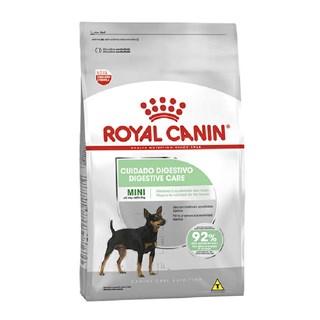 Ração Royal Canin Cuidado Digestivo para Cães Adultos de Raças Mini a partir de 10 meses de idade