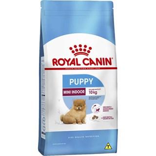 Ração Royal Canin Indoor Junior Para Cães Filhotes De Raças Mini e Pequenas