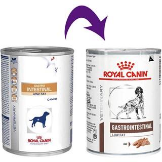 Ração Royal Canin Lata Canine Veterinary Diet Gastro Intestinal Low Fat Wet - 410 g