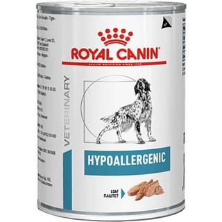 Ração Royal Canin Lata Canine Veterinary Diet Hypoallergenic Wet para Cães