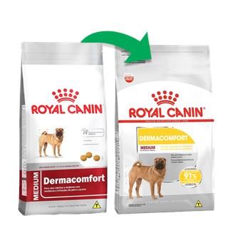 Ração Royal Canin Medium Dermaconfort Para Cães De Raças Médias