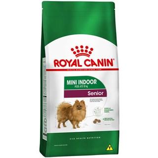 Ração Royal Canin Mini Indoor 8+ Para Cães Sênior De Raças Pequenas