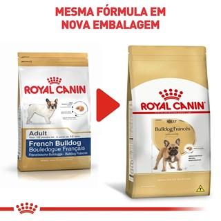 Ração Royal Canin para Cães Adultos da Raça Bulldog Francês