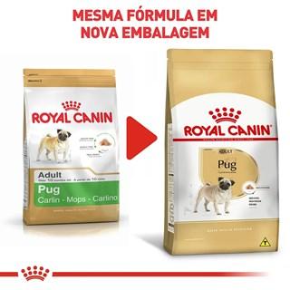 Ração Royal Canin Pug Para Cães Adultos