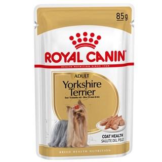 Ração Royal Canin Sachê Breed Health Nutrition Adult Wet para Yorkshire Terrier