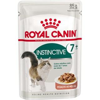 Ração Royal Canin Sachê Instinctive 7+ - 85g