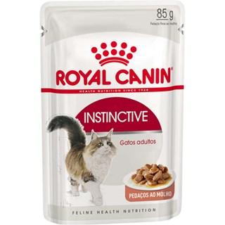 Ração Royal Canin Sachê Instinctive Para Gatos Adultos - 85g