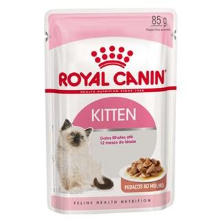 Ração Royal Canin Sachê Kitten Instinctive Para Gatos Filhotes - 85g
