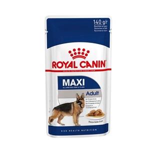 Ração Royal Canin Sachê Size Health Nutrition Adult Wet para Cães Adultos Raças Grandes