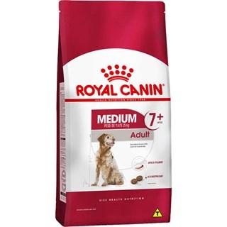 Ração Royal Canin Science Health Nutrition Medium 7+ Para Cães Adultos De Raças Médias