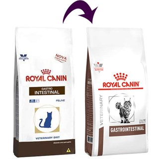 Ração Royal Canin Veterinary Diet Gastro Intestinal para Gatos