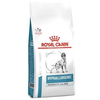 Ração Royal Canin Veterinary Diet Hypoallergenic Moderate Calorie para Cães