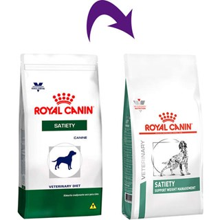 Ração Royal Canin Veterinary Diet Satiety Support Para Cães Adultos - 10kg