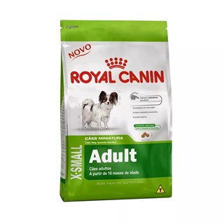 Ração Royal Canin X-Small Para Cães Adultos De Raças Pequenas
