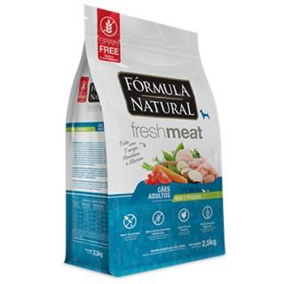 Ração Seca Fórmula Natural Fresh Meat Cães Adultos Raças Mini e Pequena