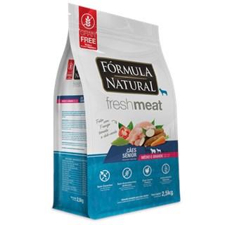 Ração Seca Fórmula Natural Fresh Meat Cães Sênior Raças Médias e Grandes