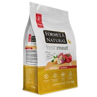 Ração Seca Fórmula Natural Fresh Meat Carne para Gatos Castrados