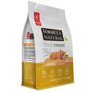 Ração Seca Fórmula Natural Fresh Meat Salmão para Gatos Castrados