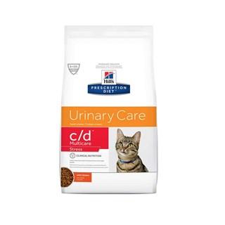 Ração Seca Hills Prescription Diet C/D Stress Multicare Cuidado Urinário para Gatos Adultos