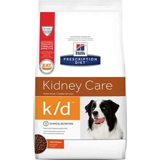 Ração Seca Hills Prescription Diet K/D Cuidado Renal para Cães Adultos