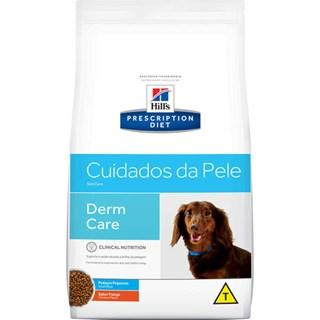 Ração Seca Hills Prescription Diet Pedaços Pequenos Cuidados com a Pele para Cães Adultos